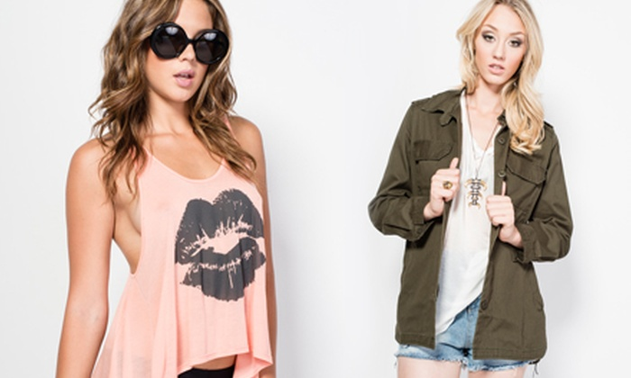 Tease Boutique - San Diego: Women's Designer Clothing and Accessories at Tease Boutique (Half Off). Two Options Available.