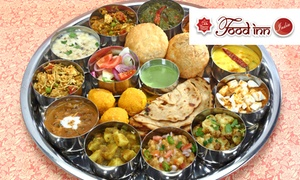 Food Inn India:  One Maharani Thali Each for Two for R120 at Food Inn - Long Street