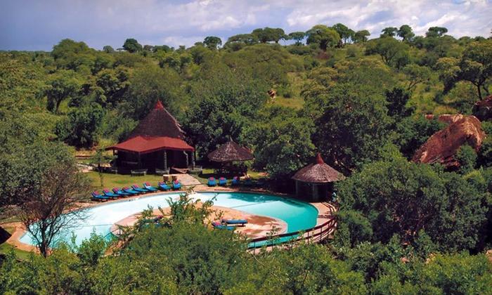 Seven-Night Tanzania Safari with Airfare - Serengeti, Tarangire, and Ngorongoro Crater : Seven-Night Tanzania Safari with Airfare from Odyssey Safaris