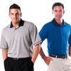 Zorrel Men's Two-Tone Polos