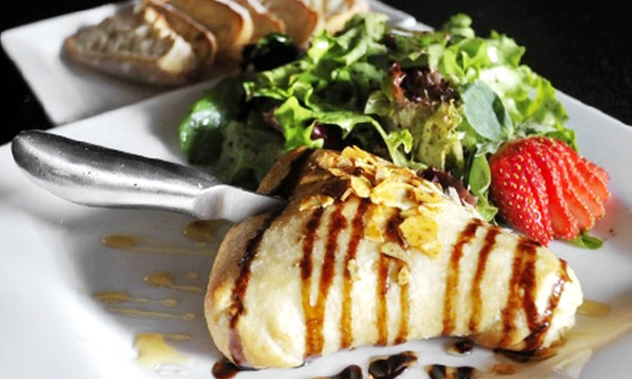 The Wine Loft - Beavercreek: Small Plates or Entrees with Dessert for Two at The Wine Loft (Up to 54% Off)