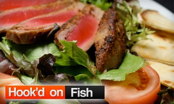 Off The Hook - Encino: $10 for $20 Worth of Seafood and Drinks at Hook'd on Fish in Encino