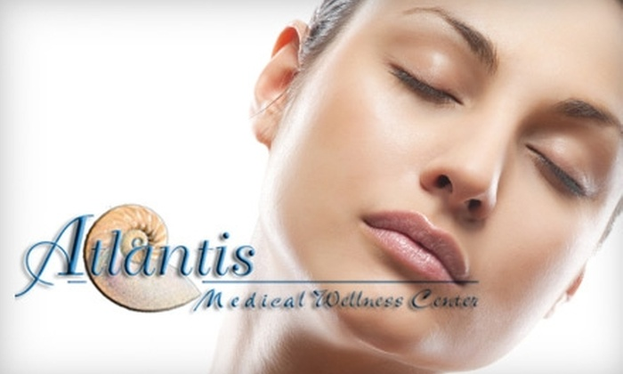 Atlantis Medical Wellness Center - Calverton: $560 for Aramis Laser Collagen-Remodeling Treatments and a Dermawave Ultrasound Treatment at Atlantis Medical Wellness Center in Silver Spring