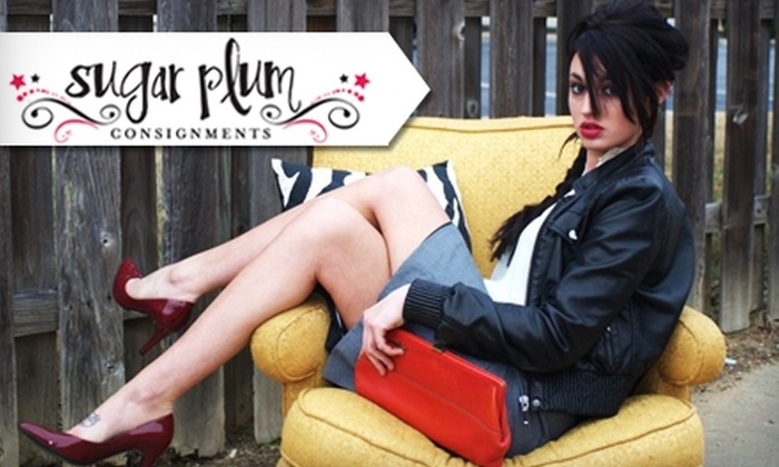 Sugar Plum Consignments - Memphis: $10 for $20 Worth Of Women's Apparel at Sugar Plum Consignments