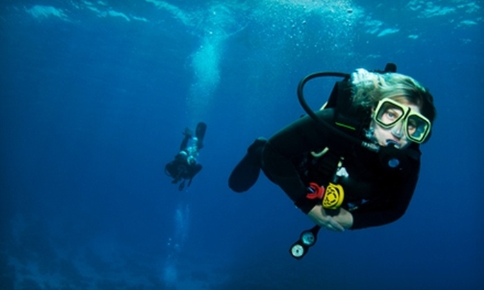 Aqua Safaris - Santa Cruz: $174 for Scuba Certification ($349 Value) or $25 for Discover Scuba Course ($68 Value) at Aqua Safaris
