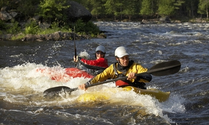 Wolf River Adventures - Shiocton: $12 for a Full-Day Kayak Rental at Wolf River Adventures in Shiocton (Up to $25 Value)