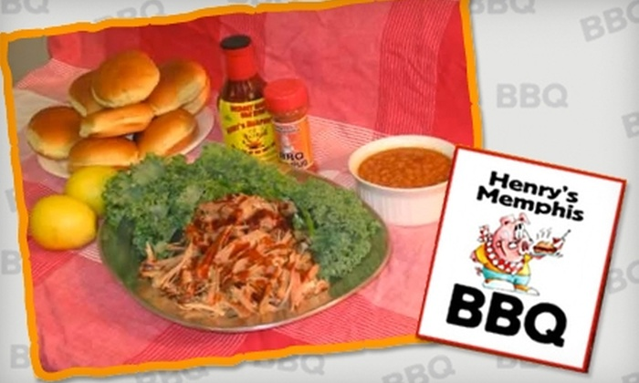 Henry's Memphis Barbeque - Colonial Avenue Area: $5 for $10 Worth of Barbecue Fare at Henry's Memphis BBQ
