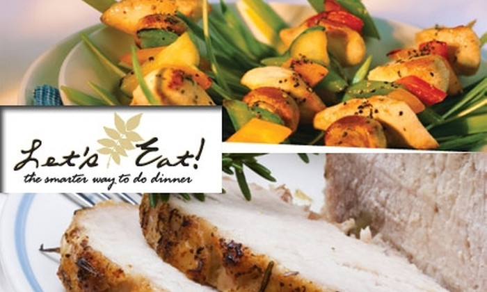 Let's Eat! South Tampa - Palma Ceia: $18 for Three Assembled Gourmet Meals for Two From Let's Eat! ($39 Value)