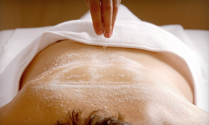 Meta Day Spa - Victoria: $39 for a Full-Body Sugar-Polish Treatment at Meta Day Spa ($84 Value)