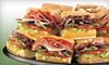 Subway - Multiple Locations: $5 for $10 Worth of Sandwiches and Drinks, Combo Platters, or Giant Subs at Subway