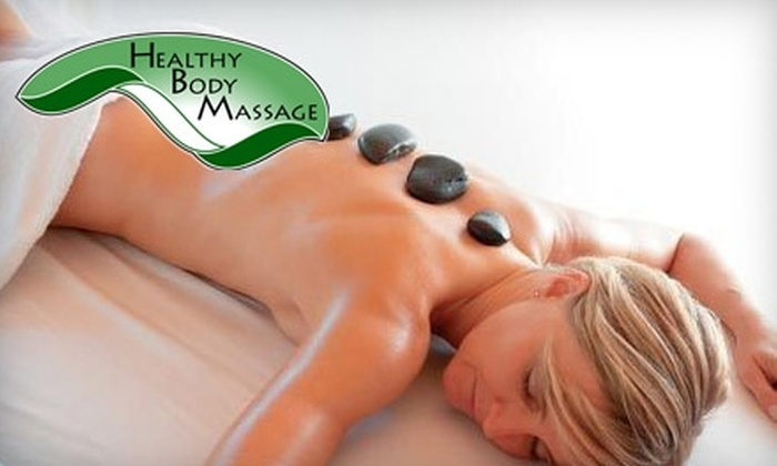 Healthy Body Massage - Conway: $56 for a 90-minute Hot-Stone Massage and Hydrating Hand Treatment at Healthy Body Massage