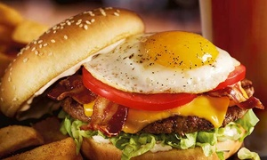 Up to 35% Off Burgers, Sandwiches, and Drinks at Red Robin at Red Robin, plus 6.0% Cash Back from Ebates.