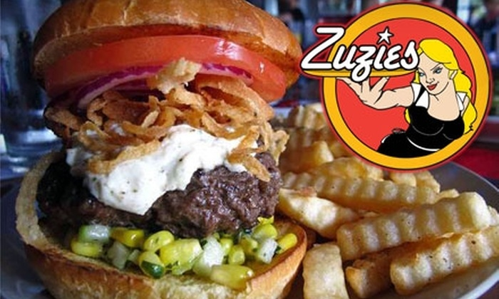 Zuzies - Astoria: $8 for $16 Worth of Gourmet Burgers and More at Zuzies