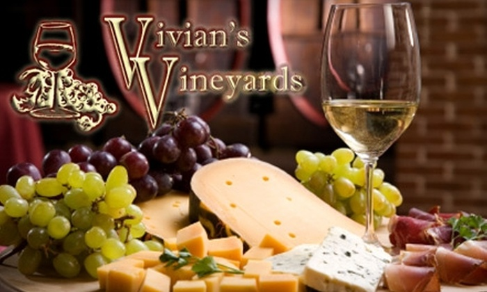 Vivian's Vineyards - Saint Charles: $14 for $30 Worth of Cuisine and Drinks at Vivian's Vineyards in St. Charles