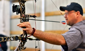 Archery-Range Package for Two or Up to Four, or a Private Party for Eight at Deer Creek Archery (Up to 84% Off)