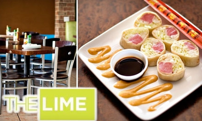 The Lime - North Hyde Park: $12 for $25 Worth of Tapas and Latin Cooking at The Lime