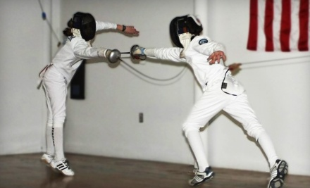 2 Introduction to Fencing Classes for 1 (a $100 value) - Ocean State Fencing Club in Lincoln