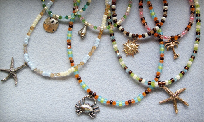 Island Bead & Jewelry - Eastport: $20 for an Intro-to-Beading Workshop at Island Bead & Jewelry in Eastport ($40 Value)