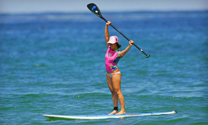 WSUP - The Beaches: 90-Minute Stand-Up Paddleboard Rental or a 30-Minute Lesson and 60 Minutes of Free Paddling from WSUP (Up to 56% Off)