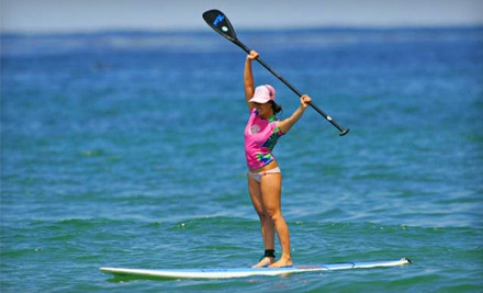 90-Minute Stand-Up Paddleboard Rental (a $45 value) - WSUP in