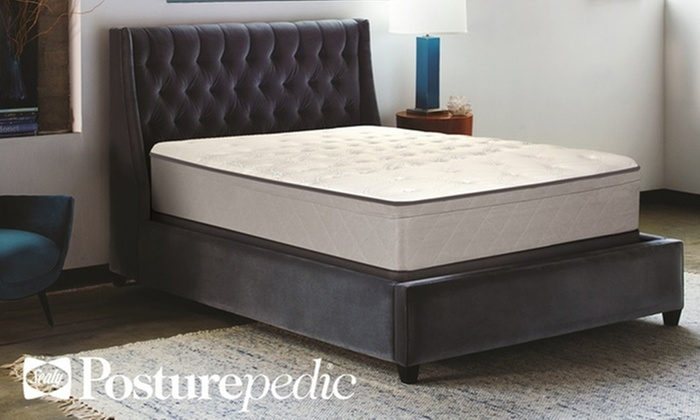 Sealy Posturepedic Precipice Trail Firm Euro Top Mattress