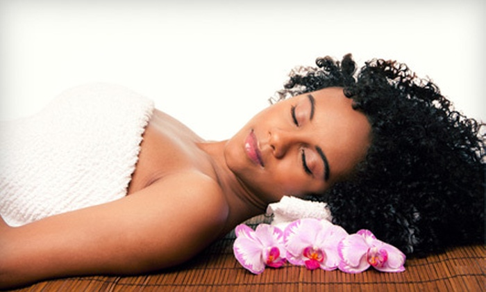 SPA at S-Cape - Omaha: Spa Package with Aromatherapy Body Wrap and Mini Facial, or an Aromatherapy Body Wrap at Spa at S-Cape (Up to 57% Off)