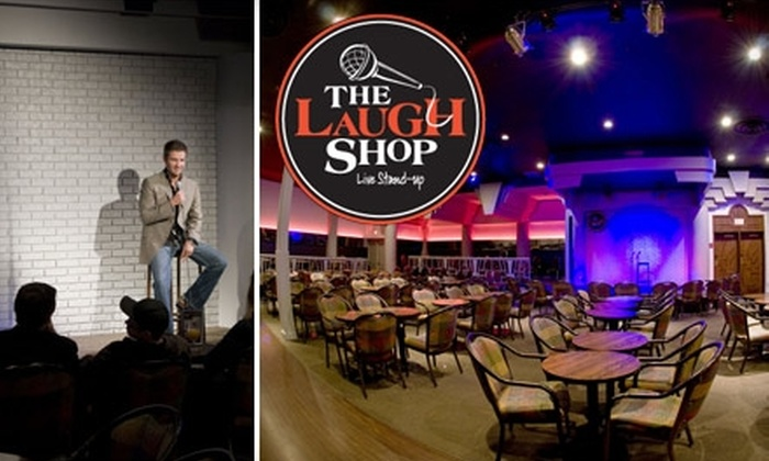 The Laugh Shop Comedy Club - Alyth - Bonnybrook - Manchester: $15 for Two Friday or Saturday Night Tickets ($33.90 Value) or $10 for Two Thursday Night Tickets ($23.90 Value) at The Laugh Shop Comedy Club