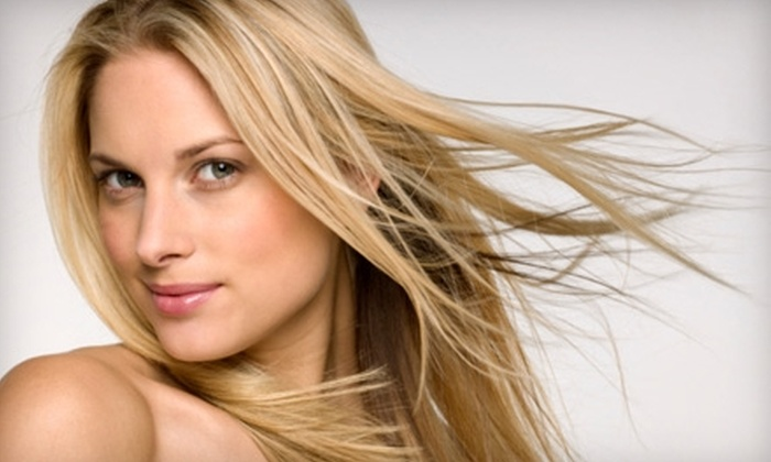 Dolce Salon and Day Spa - Reno: $39 for a Haircut, Blow-Dry, Style, and Mini Keratin Treatment at Dolce Salon and Day Spa (Up to $125 Value)