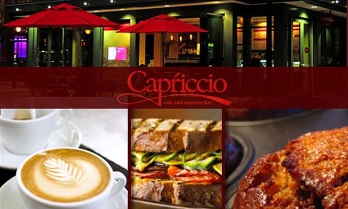 Capriccio Café - Logan Square: $10 for $20 Worth of Coffee, Sandwiches, Pastries, and More at Capriccio Café and Espresso Bar