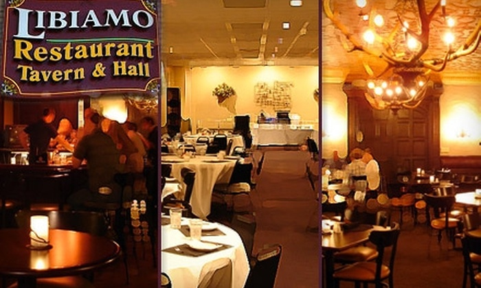 Libiamo - Schlitz Park: $10 for $25 Worth of Italian Cuisine and Drinks at Libiamo