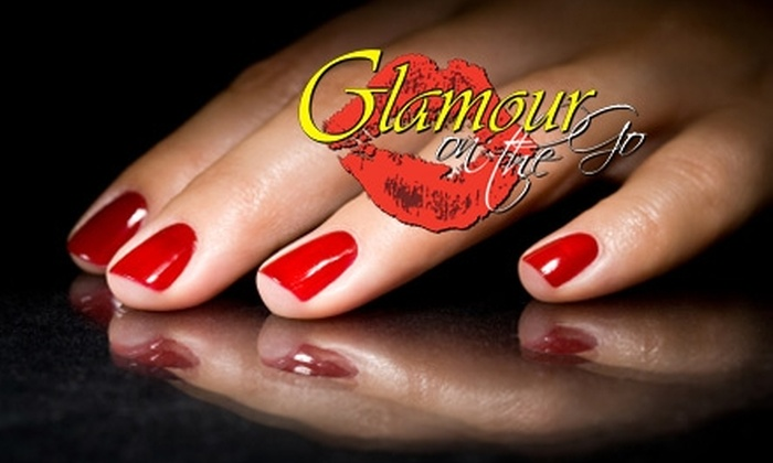 Glamour on the Go - Gainesville: $27 for Manicure and Pedicure Plus Beverage at Glamour On The Go ($55 Value)