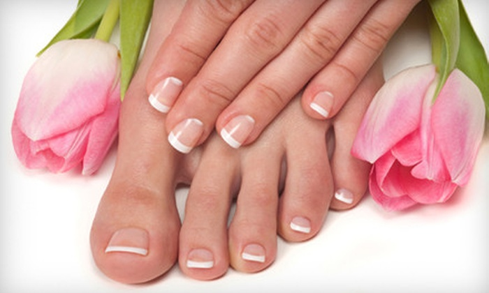 We Nailed It!  - Multiple Locations: $30 for a Spa Mani-Pedi at We Nailed It! ($60 Value). Two Locations Available.