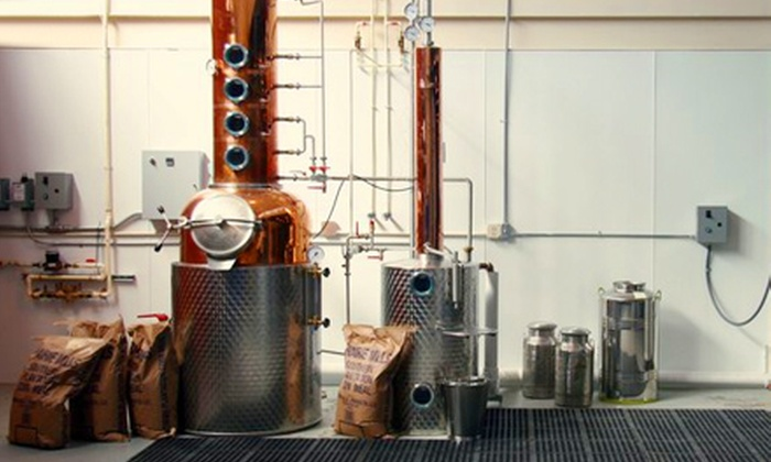 Watershed Distillery - Tri-Village: $12 for Tour and T-shirt at Watershed Distillery ($25 Value)