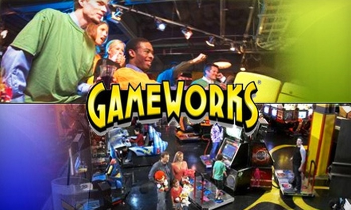 GameWorks - Central Business District: $20 for an All-Day Video-Game Play Pass at GameWorks ($45 Value)