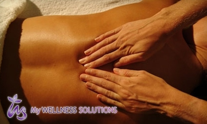My Wellness Solutions Holistic Health Center - Woodstock: $50 for Your Choice of Hydrotherapy or Anti-Stress Therapy Swedish Massage at My Wellness Solutions (Up to $125 Value)