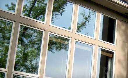Paneless Window Cleaning:  Window or Gutter Cleaning for a House of Up to 3000 Sq. Ft. - Paneless Window Cleaning in