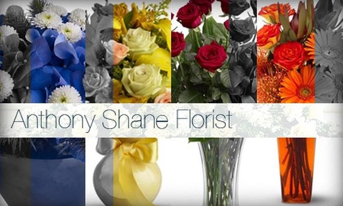 Anthony Shane Florist - Powderhorn Park: $25 for $50 Worth of Flowers at Anthony Shane Florist