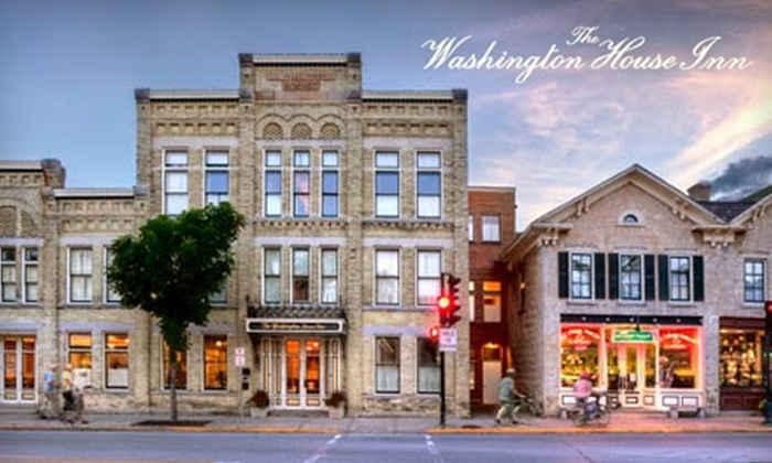 The Washington House Inn - Cedarburg: $70 for One-Night Stay in Queen-Sized Whirlpool Room at The Washington House Inn in Cedarburg