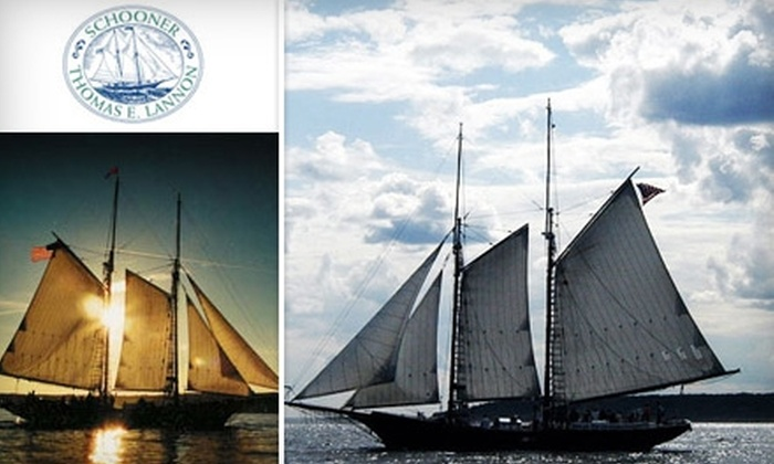 Schooner Thomas E. Lannon - Gloucester: $20 for Two-Hour Sail Aboard a Schooner (Up to $37.50 Value)