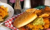 Shaw's Patio Bar & Grill - Fairmount: $10 for $20 Worth of Diner Fare at Shaw's Patio, Bar & Grill