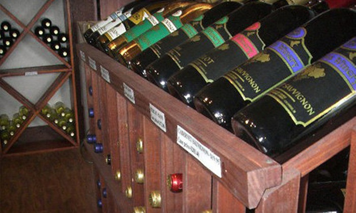 Simmons Winery - Multiple Locations: Wine Tasting for Two or Four Including Glasses and One or Two Bottles of Wine from Simmons Winery (Up to 58% Off)
