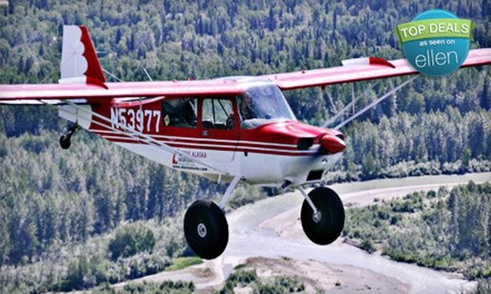 Above Alaska Aviation - Talkeetna: $89 for Introductory Flight Lesson at Above Alaska Aviation in Talkeetna ($200 Value)