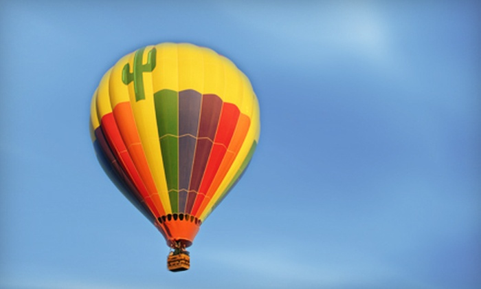 Southern Arizona Ballon Excursions - Tucson: Hot Air Balloon Rides with Champagne Brunch for Two or Four from Southern Arizona Balloon Excursions (Up to 44% Off)