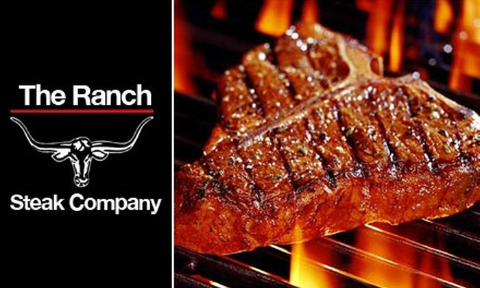 The Ranch Steak Company - Denham Springs: $114 for 24 Gourmet Steaks or 46-Piece Gourmet Pork or Chicken Pack at The Ranch Steak Company