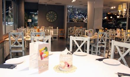 Menú de arroces para 2 o 4 personas con entrante, principal, postre y bebida desde 24,99 € en Boca Fina Restaurante