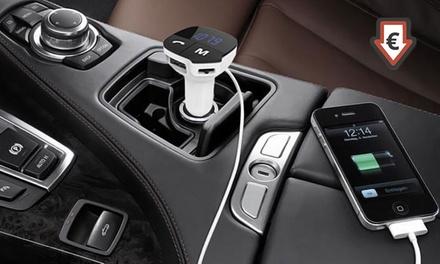Kit mains-libres Bluetooth/transmetteur de musique pour voiture dès 15,95€ (jusqu'à 81% de réduction)
