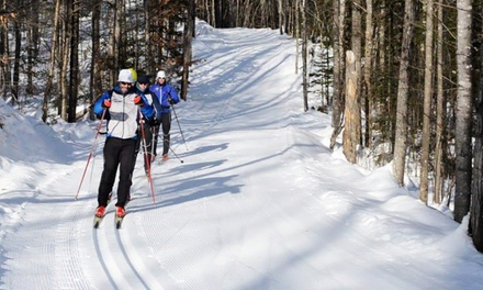 Skiing Packages for One at Jackson Ski Touring Foundation (Up to 35% Off). Three Options Available.
