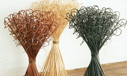 Floor Decor Natural Willow in Choice of Colour for £8.99