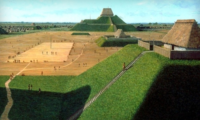 Cahokia Mounds Museum Society - Collinsville: Self-Guided Audio-Visual Tour for Two or Four with Souvenir Book from Cahokia Mounds Museum Society (Up to 53% Off)