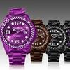 Haurex Italy Women's Elvin Crystal Watch